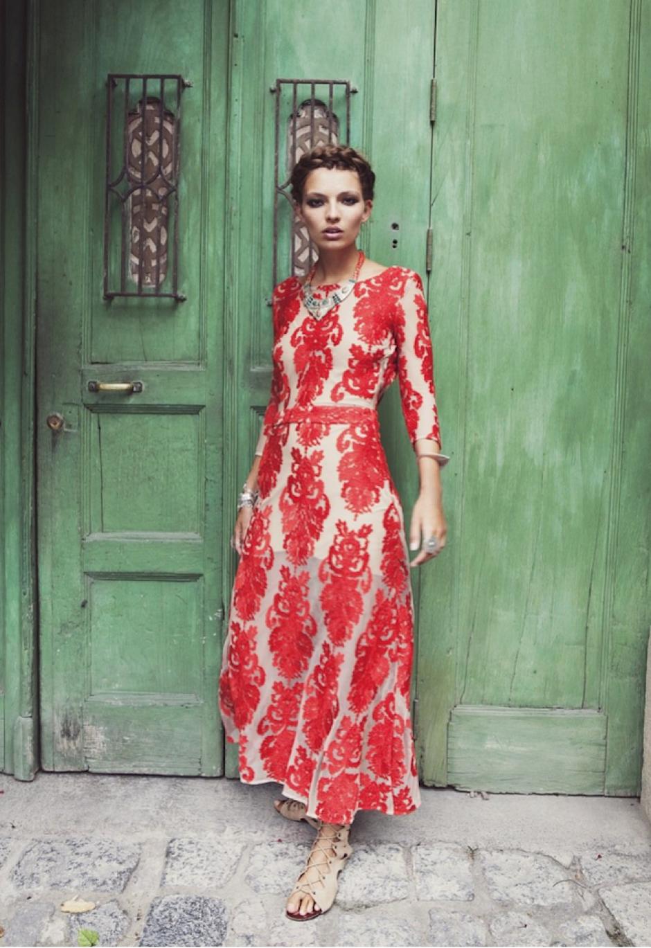 Elegancia boho-chic es la premisa de la marca. (Foto: For love and lemons)