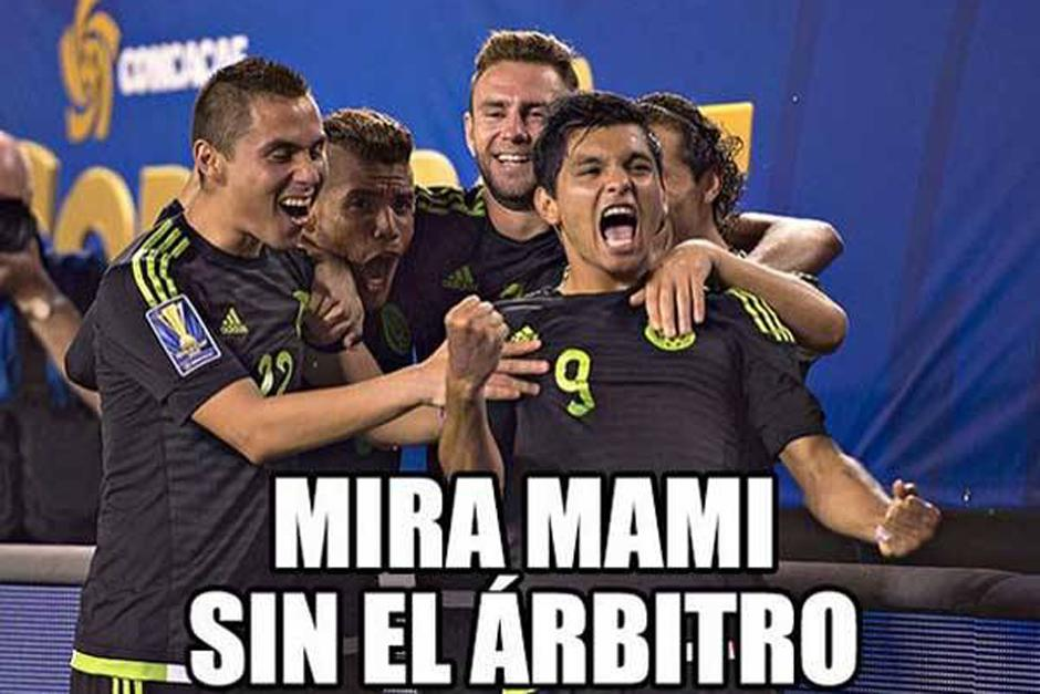 Las redes sociales se burlaron de la poca credibilidad de México para llegar a la final de la Copa Oro. (Foto: laprensagrafica.com)