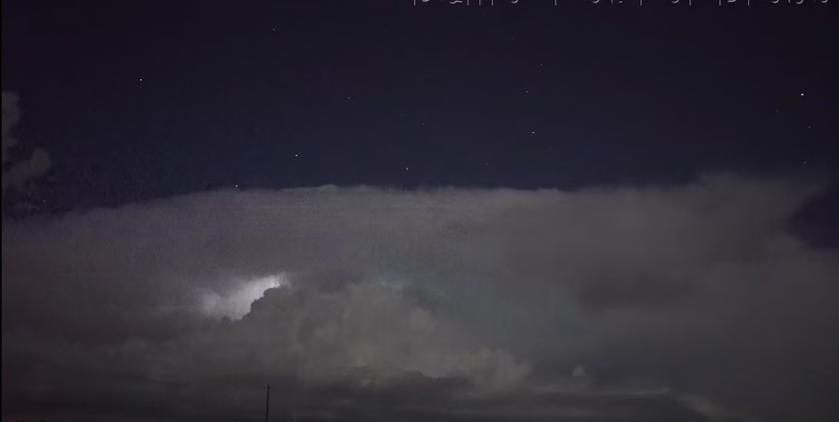 El video fue captado en Tulia en Texas. (Captura de pantalla: Scott McPartland/YouTube)