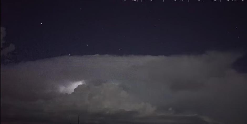 El video fue captado en Tulia en Texas. (Captura de pantalla: Scott McPartland/YouTube)