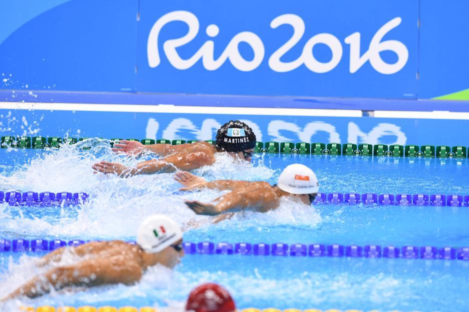 Martínez fue tercero en su heat de clasificación y sólo quedó a 14 centésimas de avanzar a las semifinales. (Foto: Sergio Muñoz/Enviado ACD)