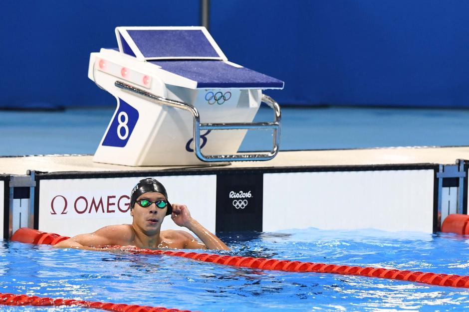 Martínez hizo la mejor marca de un nadador guatemalteco en Juegos Olímpicos. (Foto: Sergio Muñoz/Enviado ACD)