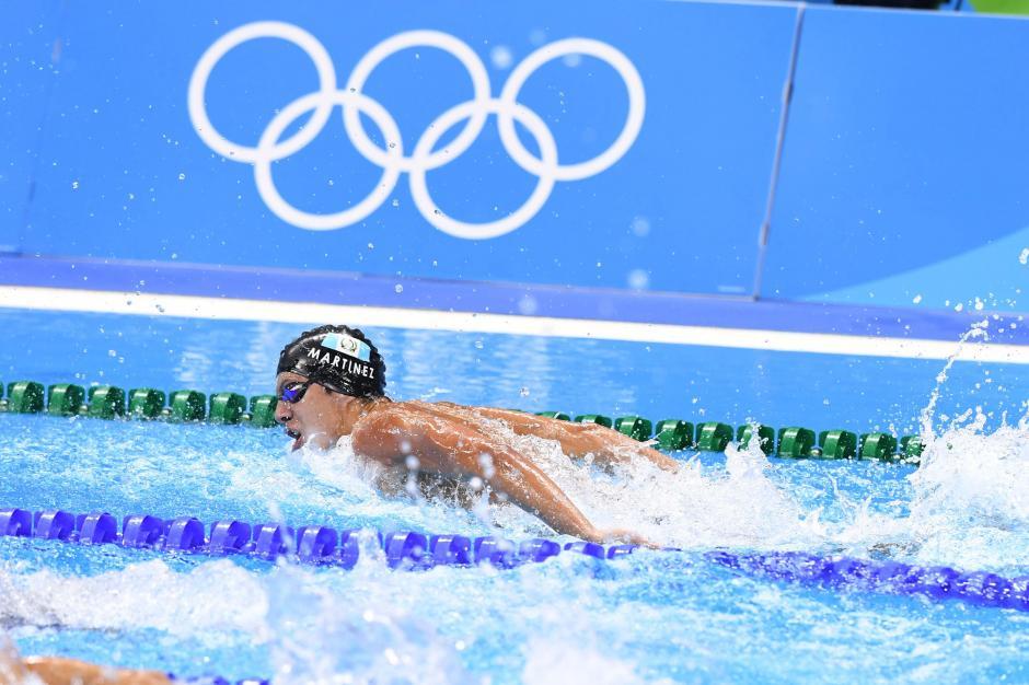 Luis Carlos Martínez finalizó en la posición 19 de los Juegos Olímpicos en la modalidad de 100 metros mariposa. (Foto: Sergio Muñoz/Enviado ACD)
