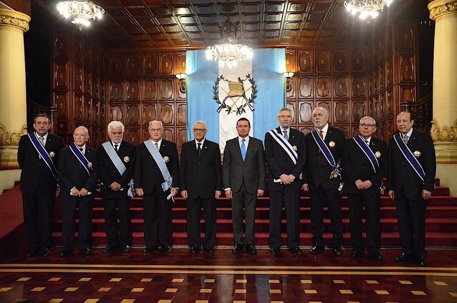 Los galardonados. (Foto: Selene Mejía/Soy502)