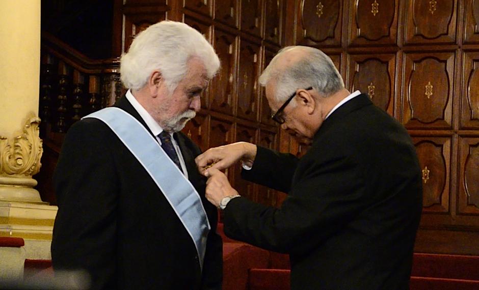 La ceremonia se llevó a cabo en el Palacio Nacional de la Cultura. (Foto: Selene Mejía/Soy502)