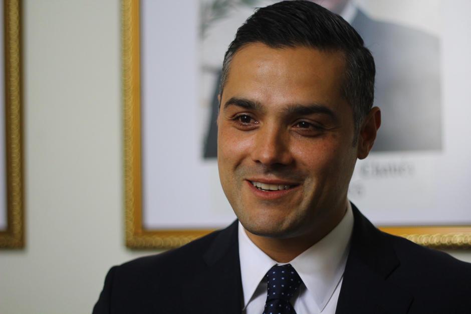 Hernández Azmitia preside la Comisión de Salud del Congreso. (Foto: Archivo/Soy502