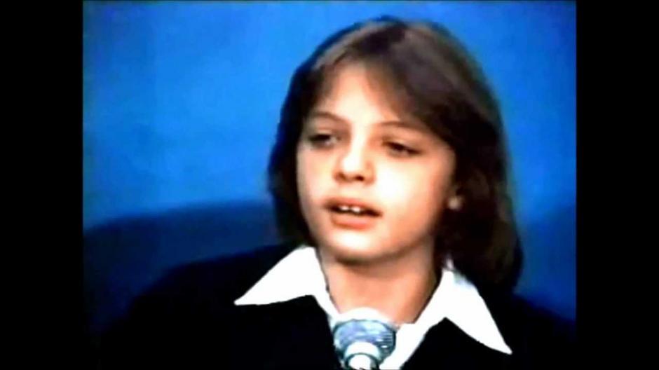 El cantante y actor ha estado en los reflectores desde la niñez. (Imagen: captura de YouTube)