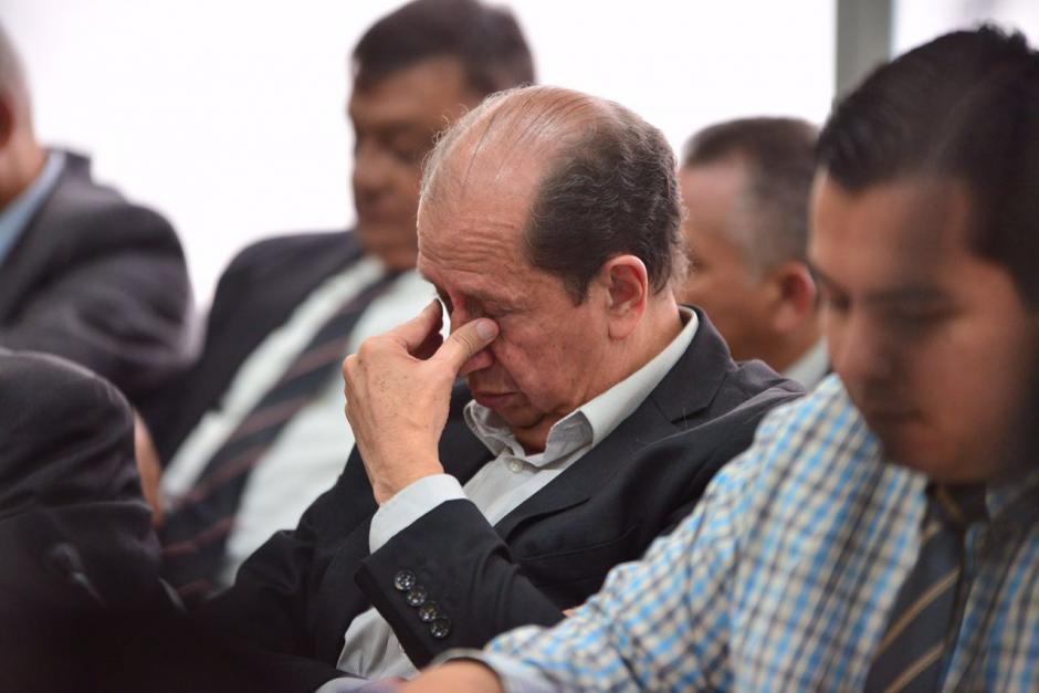 El exdirector General del Congreso Luis Mijangos también está implicado en el caso de Plazas Fantasma. (Foto: Jesús Alfonso/Soy502)