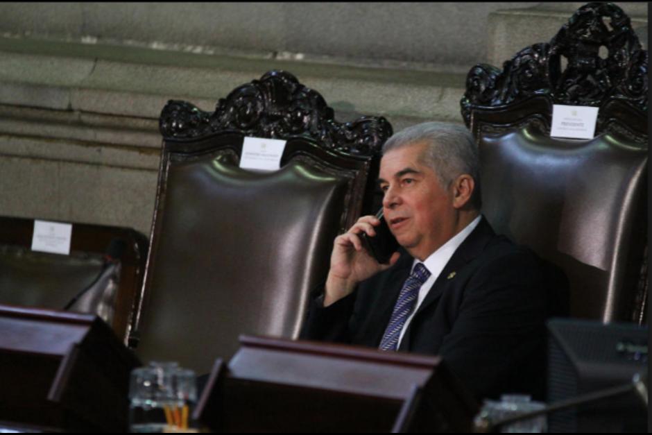 Rabbé tiene más de un mes de no llegar al Congreso. (Foto: Archivo/Soy502)