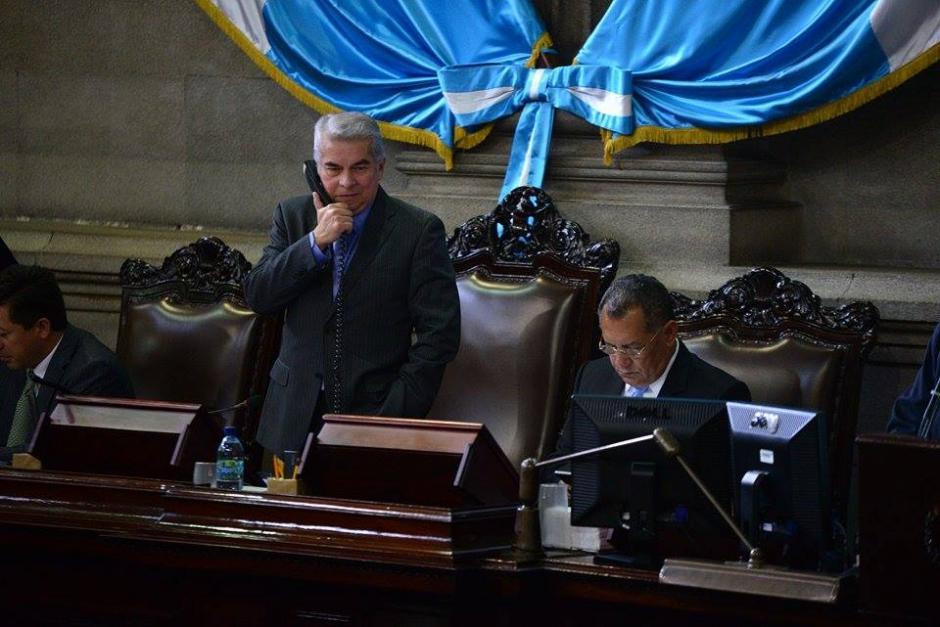 Luis Rabbé, el protagonista de una frase que habría dicho con el micrófono aún encendido. (Foto: Wilder López/Soy502)