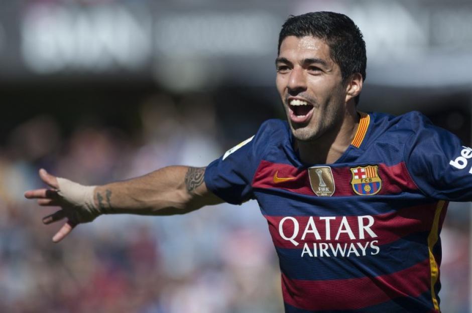Luis Suárez anotó 40 goles en la Liga española, es el tercer jugador en toda la historia en llegar a esa cifra. (Foto: AFP)