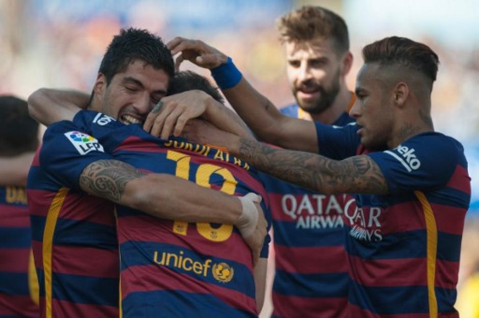 Barcelona festeja el título 24 en su historia. (Foto: AFP)