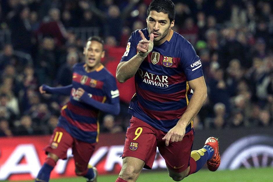 El delantero uruguayo llegó a 18 goles en 18 partidos disputados.(Foto: EFE)