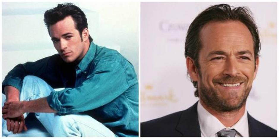 """Luke Perry personificaba al guapo """"Dylan McKay"""". (Foto: El Salvador.com)"""