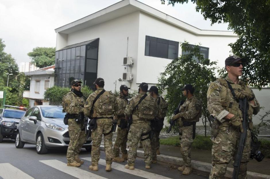 Un fuerte operativo militar y policial se desarrolló para su captura. (Foto: AFP)