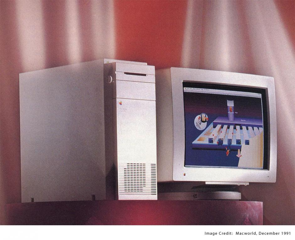 Mac Quadra 900. Similar a la Quadra 700 pero con mayor capacidad.