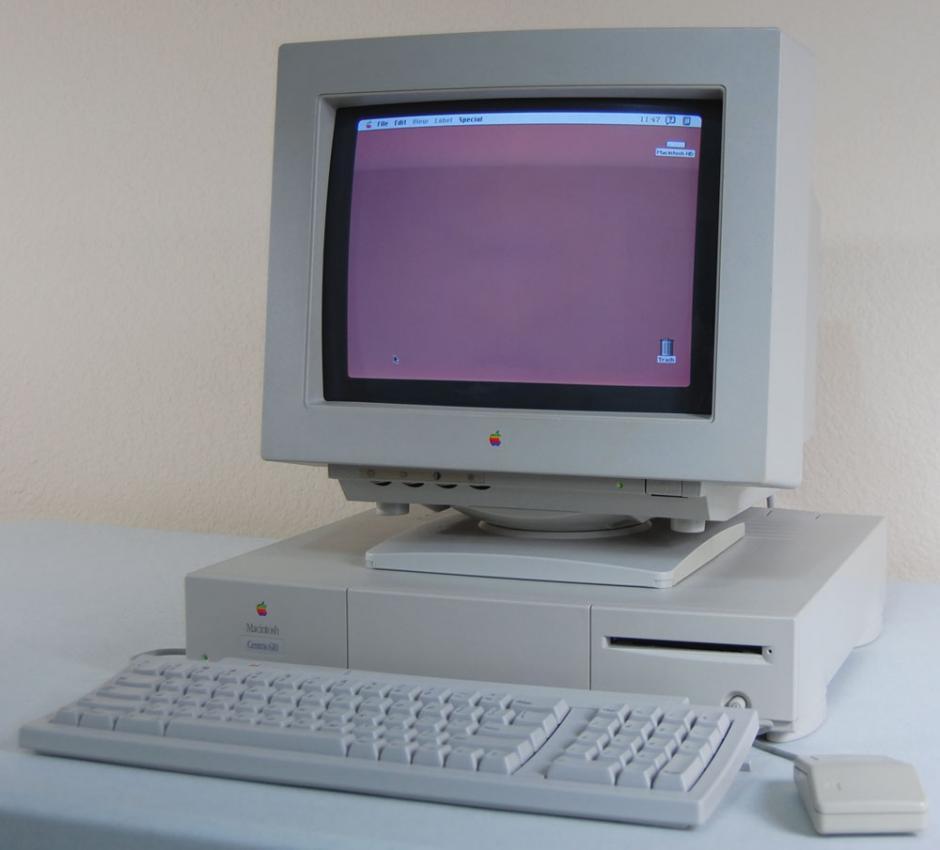 Power Macintosh serie. Realizan un cambio en los procesadores. La ofrecían como su equipo más potente y se produjeron.
