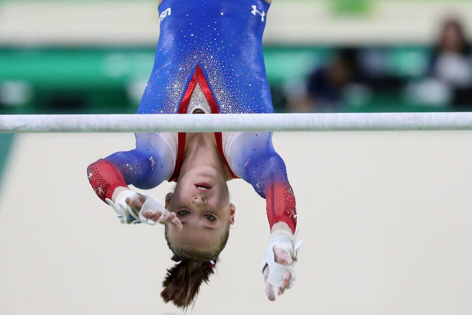 Madison Kocian es especialista en barras asimétricas. (Foto: EFE)