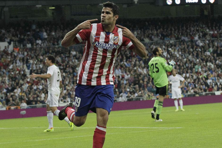 El último juego entre el Real y el Atlético en el Bernabéu fue por la primera vuelta de la actual Liga y los visitantes ganaron 1-0 con una anotación de Diego Costa