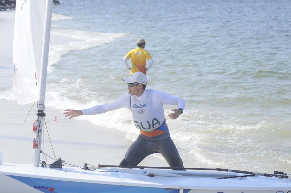 """Maegli consiguió su primer """"Diploma Olímpico"""". (Foto: Aldo Martínez/Enviado especial de Nuestro Diario)"""
