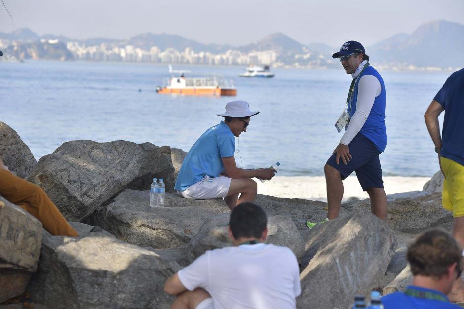Maegli deberá de esperar este martes para competir en la regata final. (Foto: Aldo Martínez/Nuestro Diario)