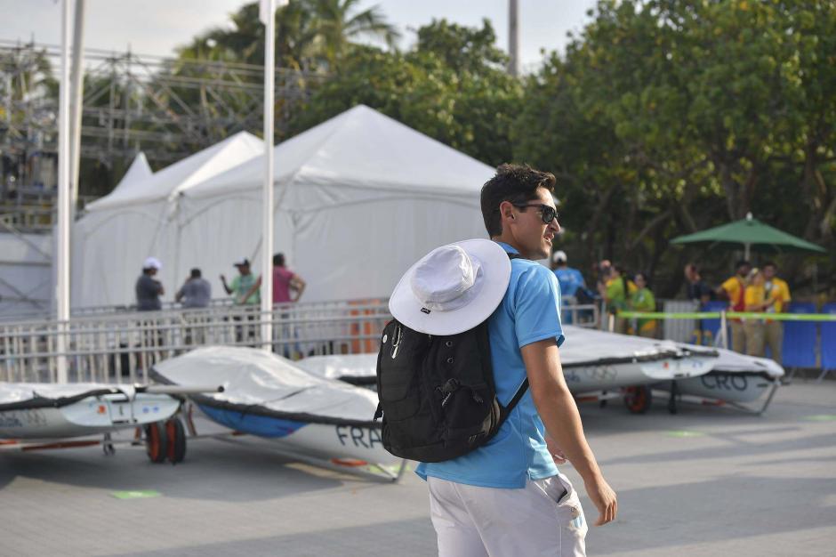 Juan Ignacio está disputando sus terceros Juegos Olímpicos. (Foto: Aldo Martínez/Nuestro Diario)