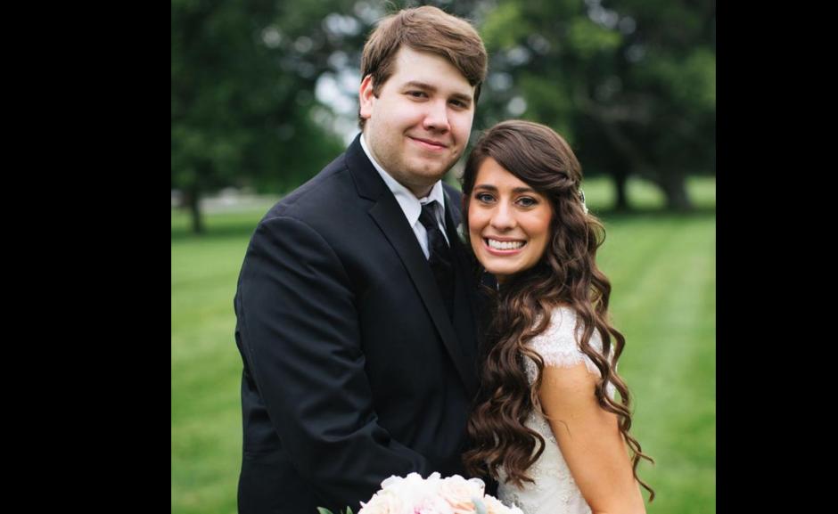La boda de está chica fue muy especial. (Foto: Facebook/Kinsey French)