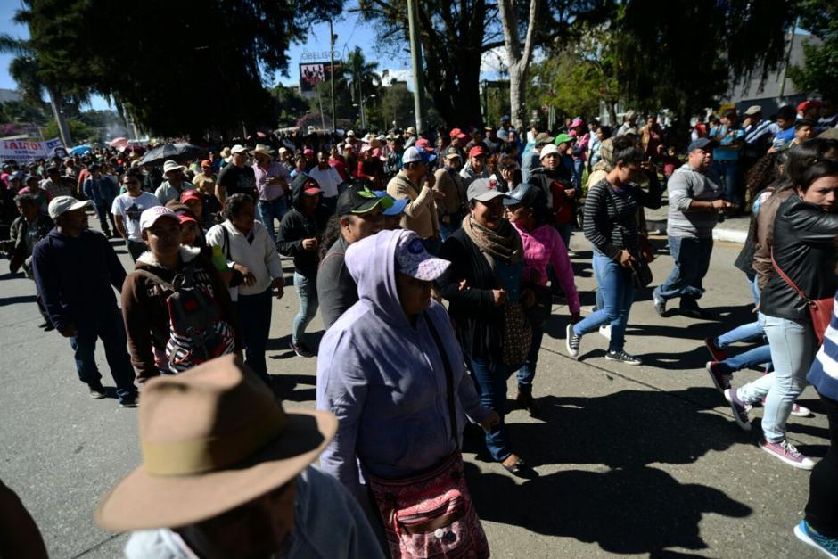 Los maestros piden una ampliación presupuestaria para el próximo año. (Foto: Wilder López/Soy502)