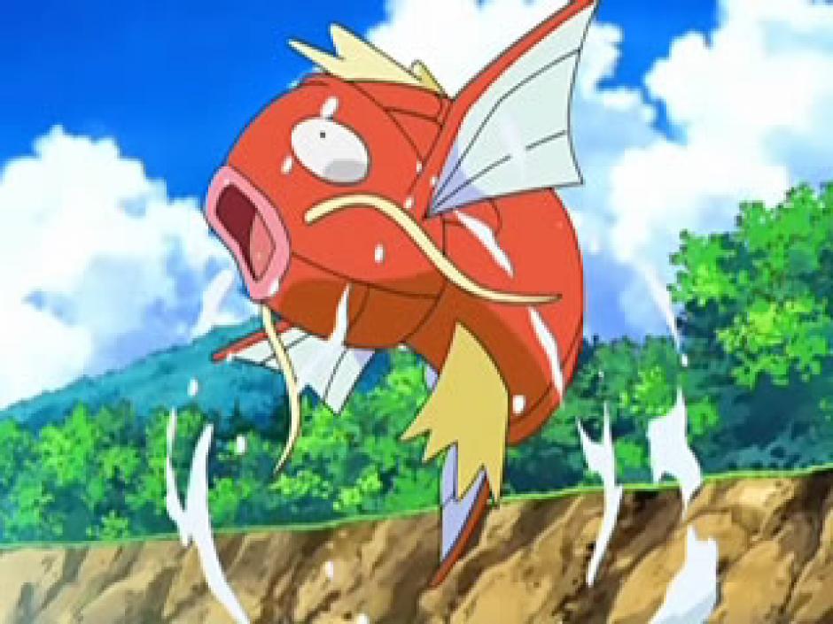 """Magikarp"" es uno de los pokémon más débiles. (Foto: taringa.net)"