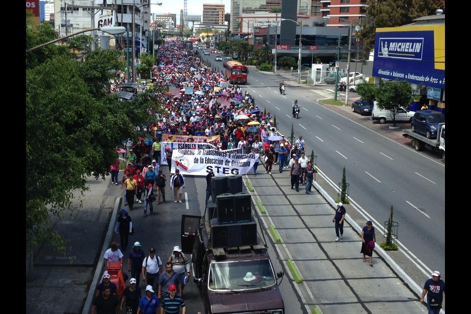 Las principales calles de la ciudad se verán afectadas. (Foto: Archivo/Soy502)
