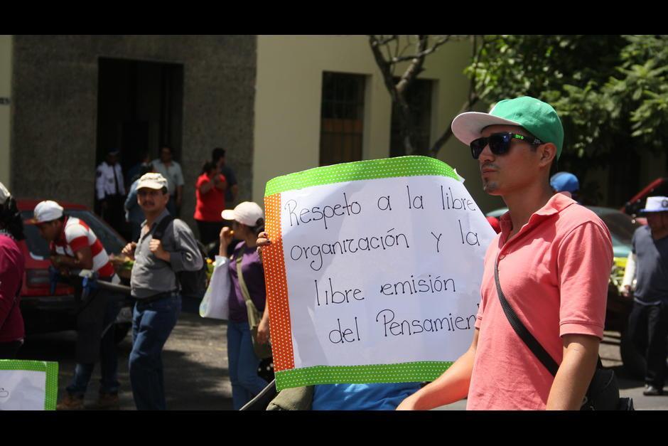 Se espera que la manifestación termine a las 14 horas. (Foto: Archivo/Soy502)