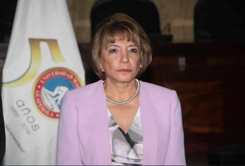 Silvia Patricia Valdéz fue electa el 26 de septiembre como presidenta de la CSJ período 2016-2017. (Foto: Organismo Judicial)
