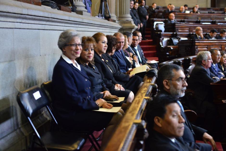 El pleno de magistrados eligió a Valdés como presidenta. (Foto: Jesús Alfonso/Soy502)