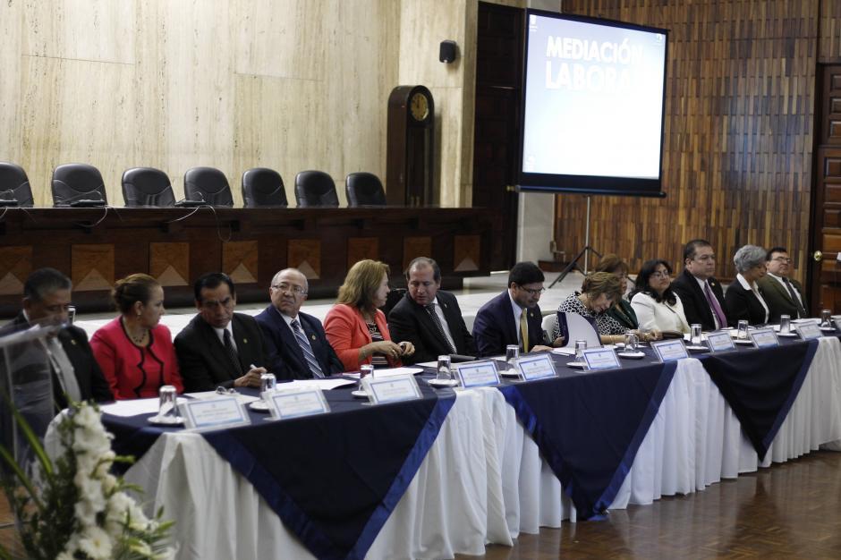 Los magistrados de la CSJ eligieron por mayoría a Silvia Patricia Valdéz como presidenta. (Foto: Wilder López/Soy502)