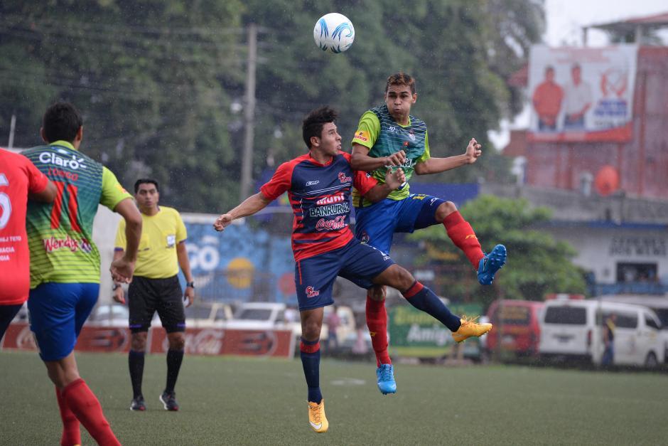 Malacateco y Municipal empataron en un entretenido partido en el estadio Santa Lucía. (Foto: Sergio Muñoz/Nuestro Diario)