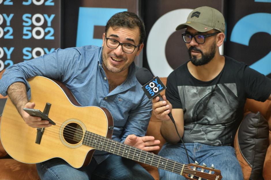 Los músicos contaron sobre el único acercamiento que han tenido con Ricardo Arjona. (Foto: Wilder López/Soy502)