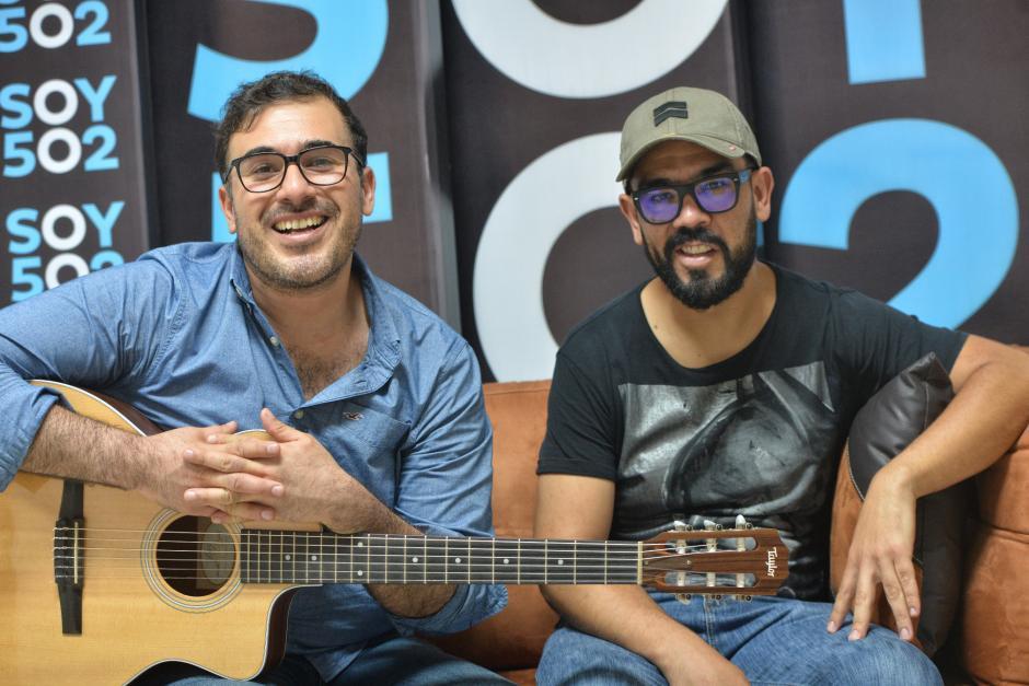 Francisco Páez y Leonel Hernández de Malacates Trébol Shop hablaron de algunas anécdotas que han vivido en el mundo de la música. (Foto: Wilder López/Soy502)