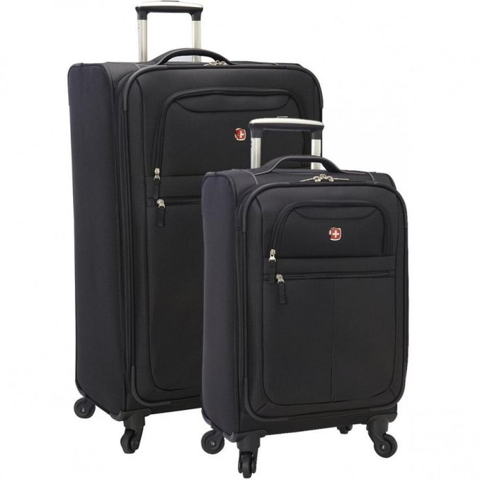 Cada juego de maletas costó Q1 mil 428.53. (Foto: Swiss Gear)