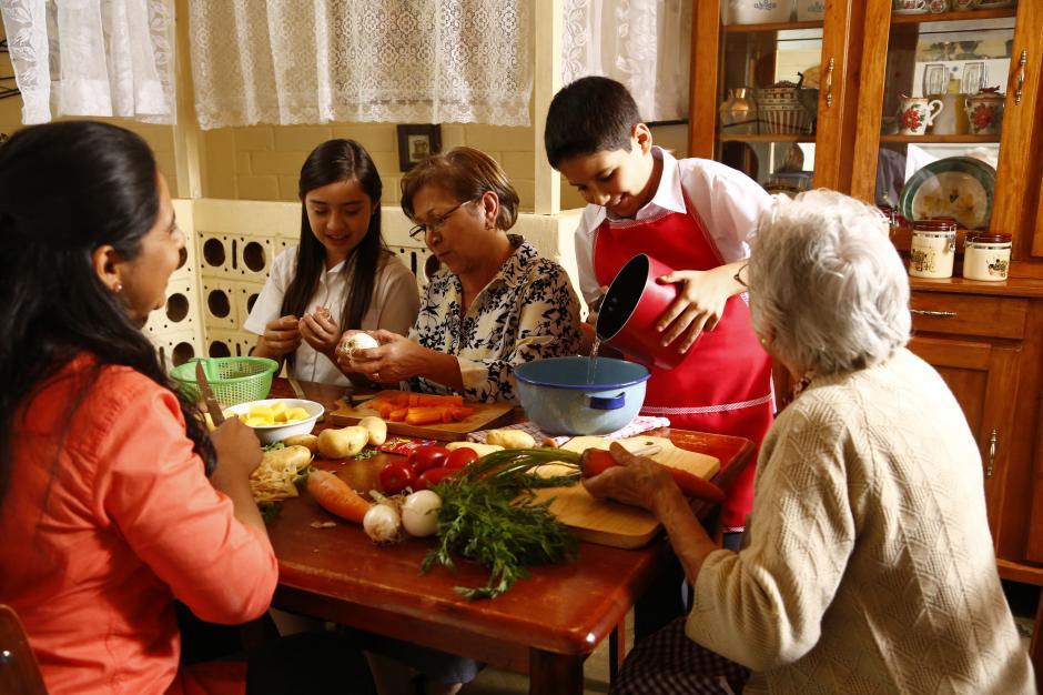 La cocina une a la familia. (Foto: cortesía Malher®)
