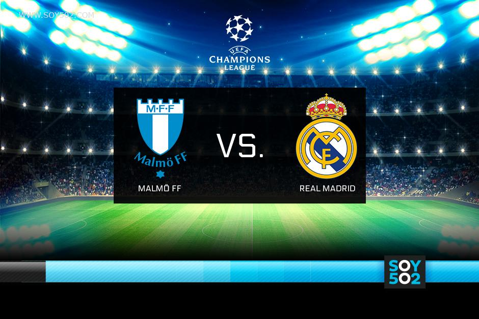 El Real Madrid visita al Malmö FF en Suecia