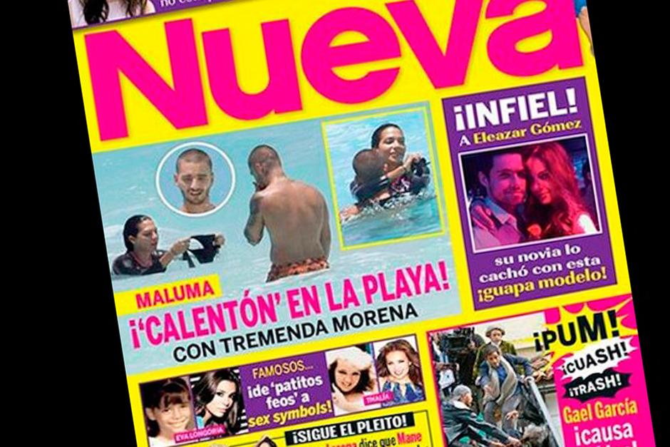 Los medios de comunicación mexicanos publicaron fotografías de la que ahora llaman la novia de Maluma. (Foto: captura de pantalla YouTube)