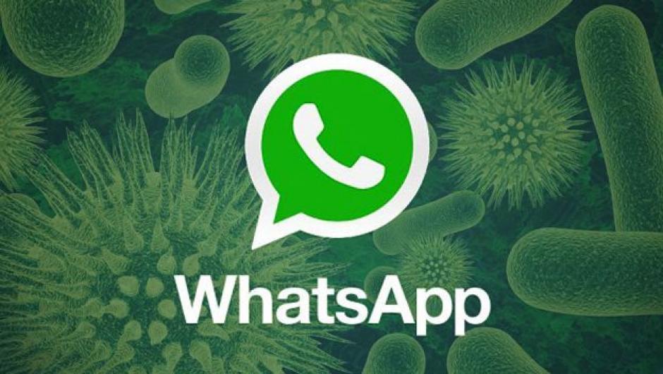 Si recibes un mensaje pidiendo actualizar tu WhatsApp, piensa bien si lo abres. (Foto: Twitter)