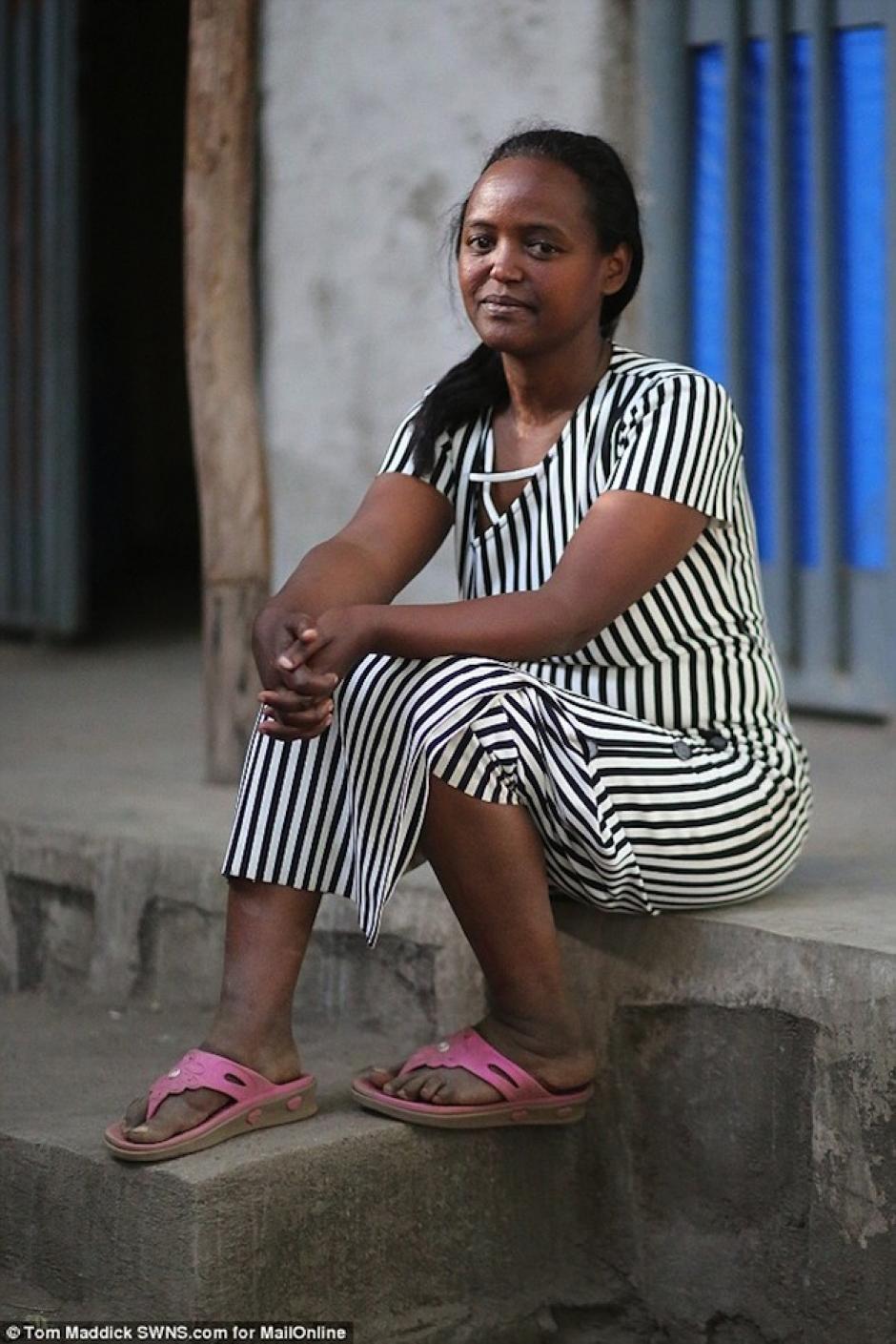 El nombre de la madre de Zahara es Mentewab Dawit Lebiso. (Foto: Daily Mail)
