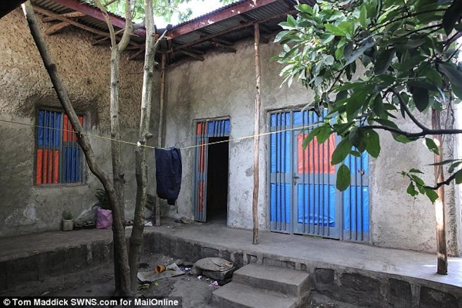 Esta es la casa donde la mamá de Zahara vive. (Foto: Daily Mail)