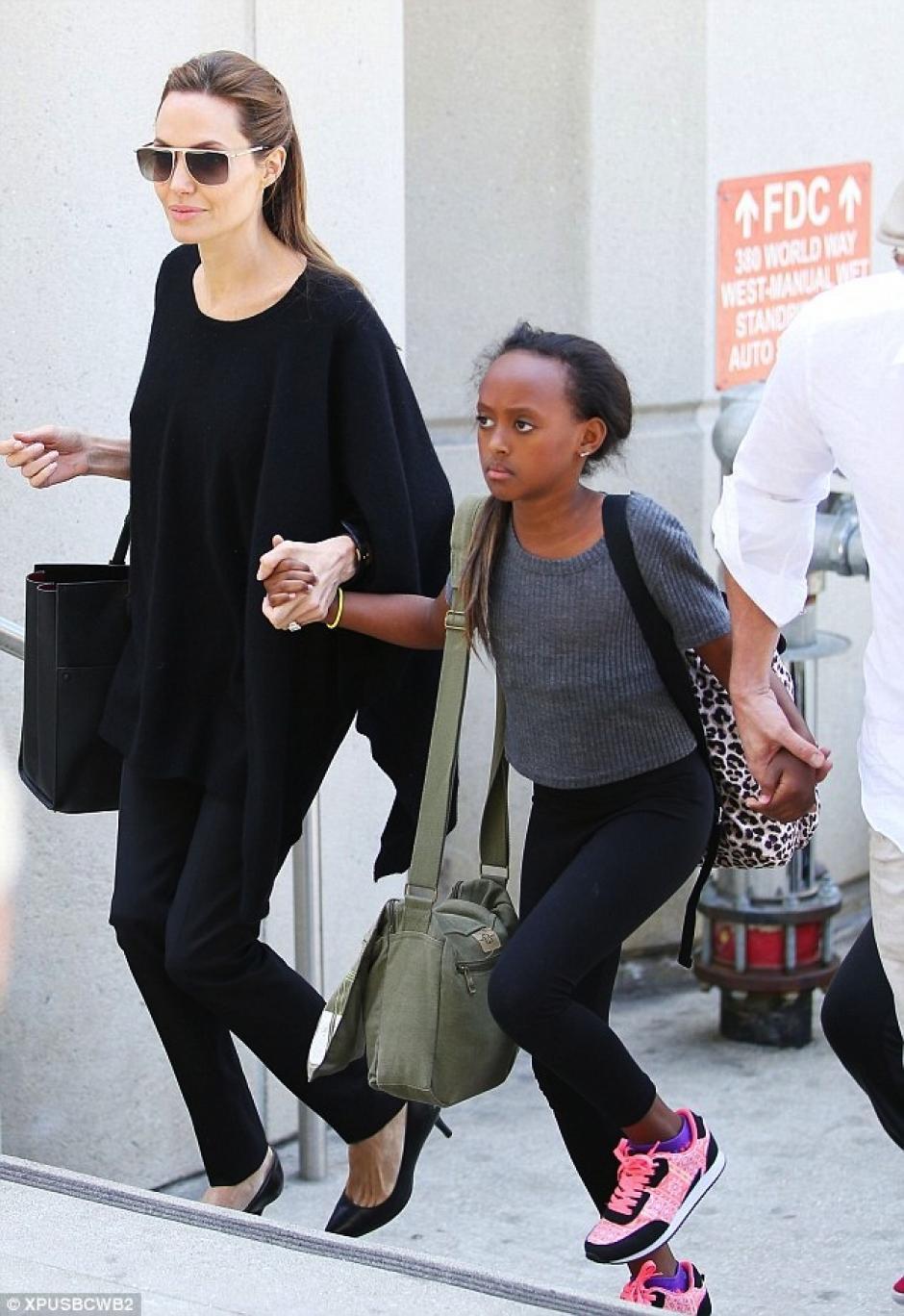 Zahara es una de las hijas casi adolescentes de Angelina Jolie. (Foto: El Nuevo diario)