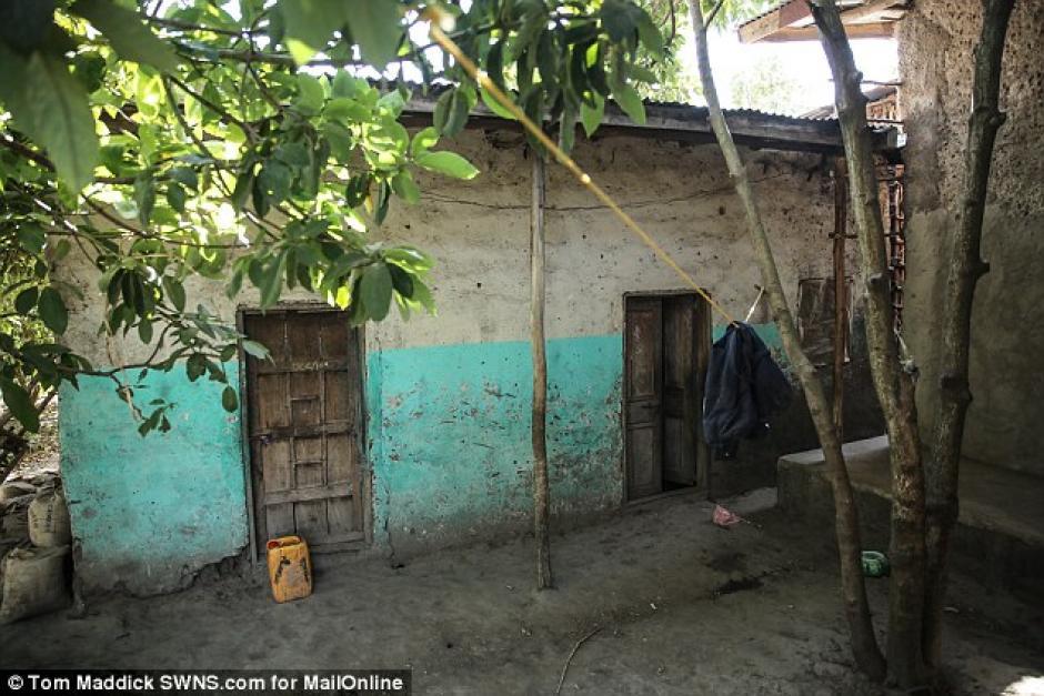 Mentewab entregó a la bebé en 2005 en un orfanato. (Foto: Daily Mail)