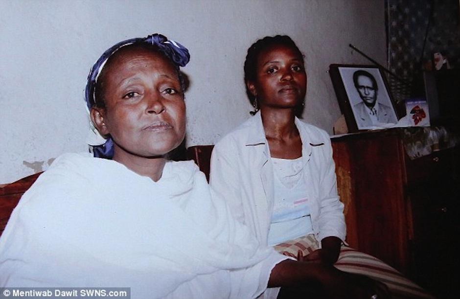 Ella es la abuela de Zahara. (Foot: Daily mail)