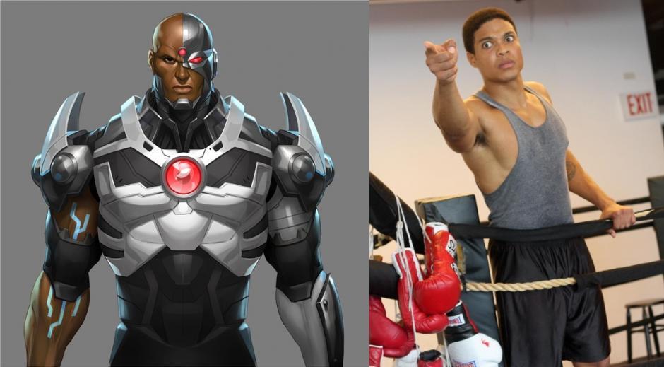 Cyborg será interpretado por Ray Fisher. (Imagen: heroicuniverse.com)