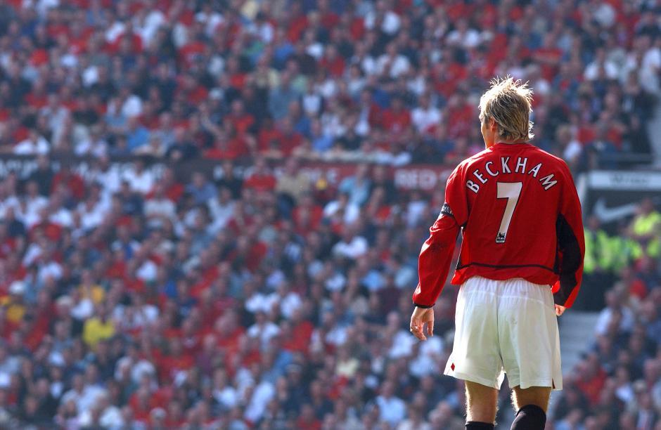 David Beckham es un ícono para los seguidores del Manchester United. (Foto: Manchester United)