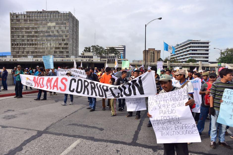 Los bloqueos fueron anunciados el pasado lunes en horas de la tarde. (Foto: Jesús Alfonso/Soy502)
